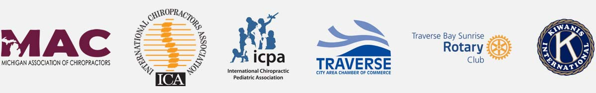 Chiropractic Traverse City MI Trusted Friends Logos